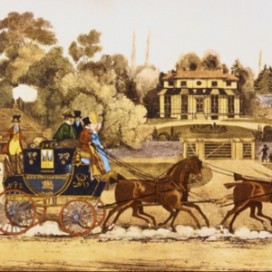 The English Mail Coach