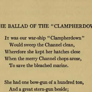 """The Ballad of  the """"Clampherdown"""""""