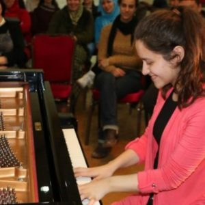 A Grand Piano Discovered and Revived in War-Stricken Gaza