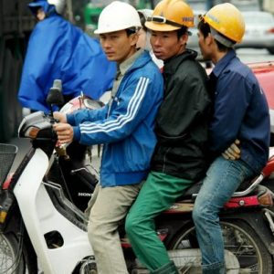 Over Thirty Seven Million People in Vietnam Use Motorbikes