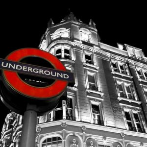 The London Tube to Turn Dark Knight by Weekend