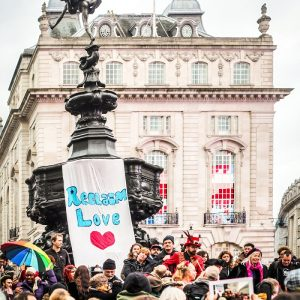 Reclaiming Love at Piccadilly Circus
