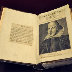 Discovery of New Copy of First Folio Leaves Shakespeare Scholars Stunned