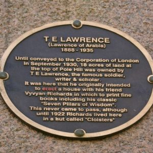 The Manuscript for <em>Lawrence of Arabia</em> was Lost at the Reading Station