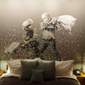 Banksy's Bethlehem Hotel is an Example of How Tourism can be Political