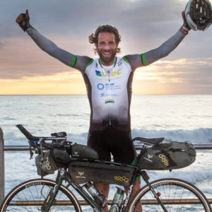 Mark Beaumont Cycles Around the World in 80 (-1) Days